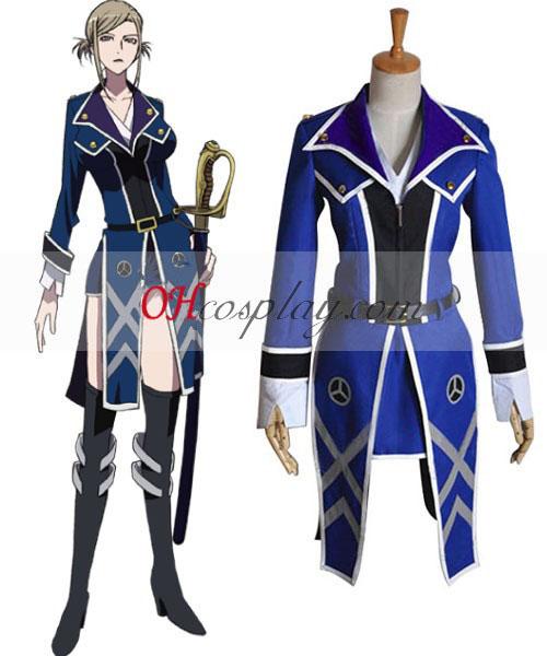 K Aoshima Seini Cosplay костюм