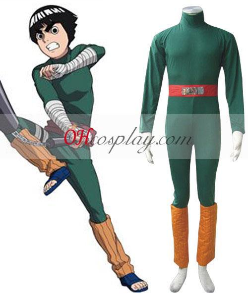 Naruto Chunin изследване рок Лий 1-ва Cosplay костюм