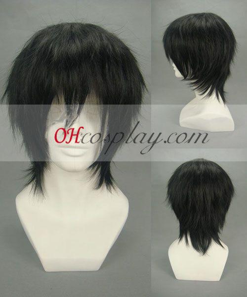 Куфондас се възражда! Hibari Kyouya черно Cosplay Wig