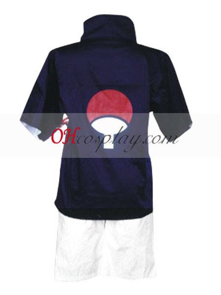 Naruto Uchiha Sasuke Chunin Exam udklædning Kostume