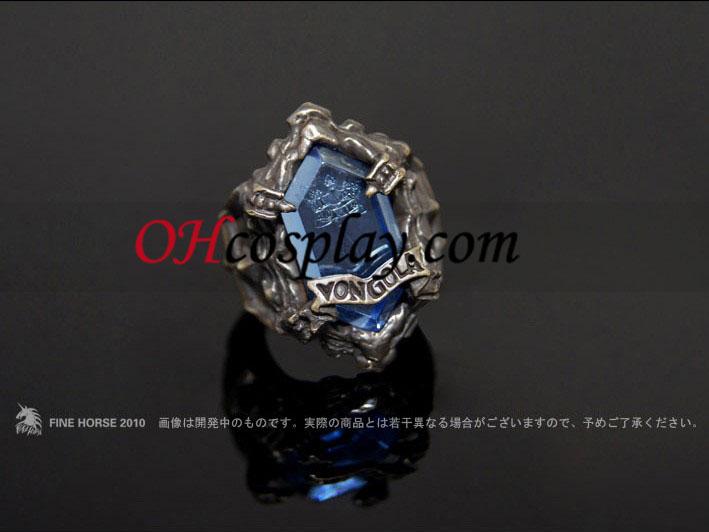 Katekyo Hitman Reborn Yamamoto Takeshi Cosplay Vongola Rain Ring - Premium Editon