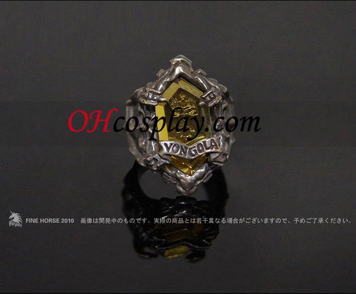 Katekyo Hitman Reborn Sasagawa Ryohei Cosplay Vongola Sun Ring - Premium Editon