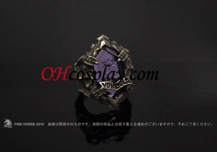 Katekyo Hitman Reborn Hibari Kyoya Cosplay Vongola Cloud Ring - Premium Edition