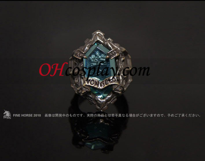 Katekyo Hitman Reborn Lambo Cosplay Vongola Thunder Ring - Premium Edition