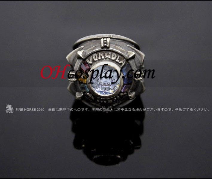 가정교사 히트맨 리본 코스프레 vongola 사와다 츠나요시가 큰 빈 링 - Premium Edition