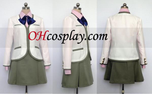 Shoko Fuyumi Cosplay Uniform called taking your own middle Kin iro no Corda