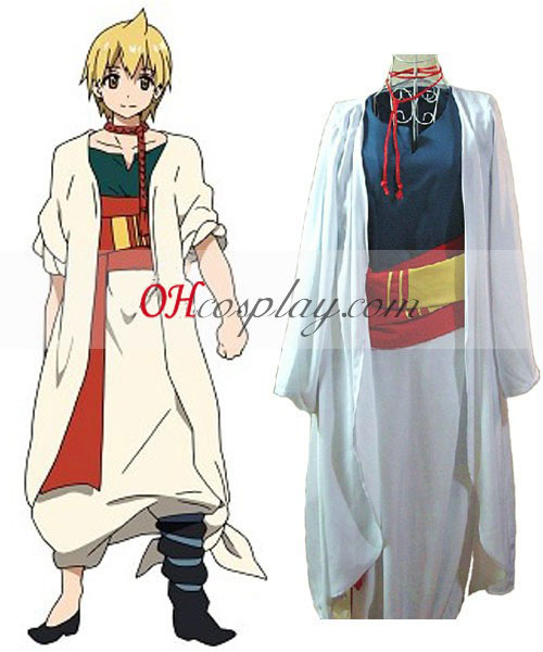 Het Labyrint van Magic Magi Alibaba Saluja Cosplay Costume