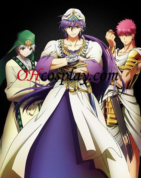 The Labyrinth of Magic Magi Sinbad Cosplay Costume Australia