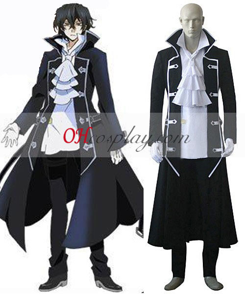 Pandora Hearts Gilbert (Raven) Cosplay kostyme