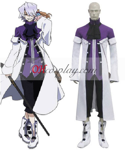 Pandora Hearts Xerxes Break Cosplay kostyme