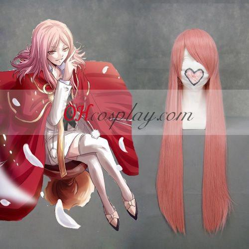 Pandora Hearts Lotti Pink Cosplay peruk