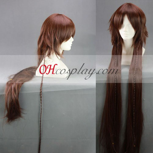 Pandora Hearts B-rabbit Alice Brown Cosplay Wig