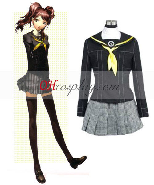 Persona 4 Stijging Kujikawa School Uniform Cosplay Costume