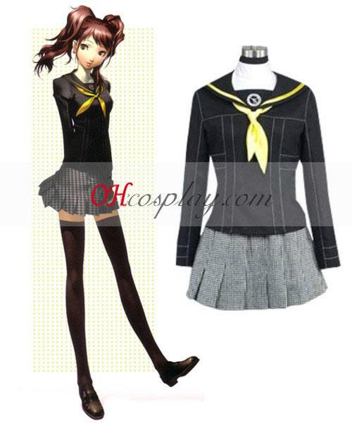 Persona 4 Aufstieg Kujikawa Schuluniform Cosplay