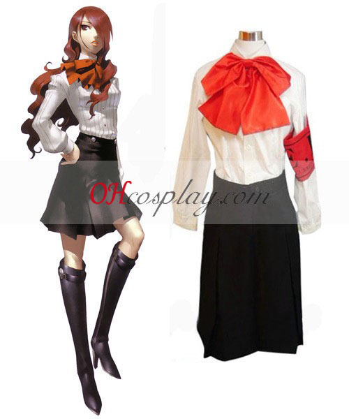 Persona 4 Tanaka Rie Costume Carnaval Cosplay