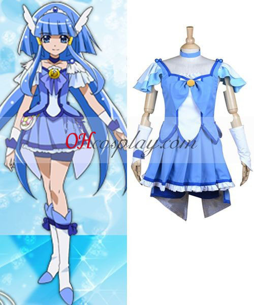 Smile Precure Cure Pretty (Cure Beauty) Cosplay Kostym