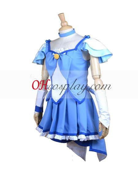 Кегср красивия Smile PreCure (водни красота) Cosplay костюм