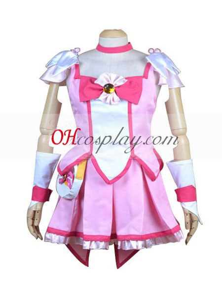 Кегср красивия Smile PreCure Hoshizora Miyuki (водни щастливи) Cosplay костюм