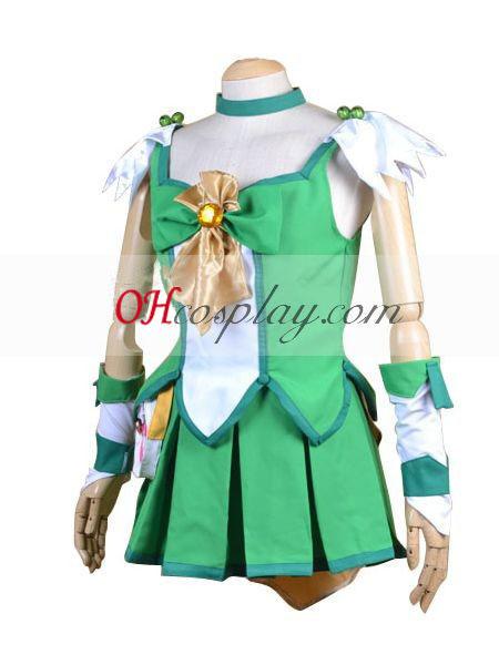 Pretty Cure Smile PreCure Midorikawa Nao (Cure March) Cosplay Costume