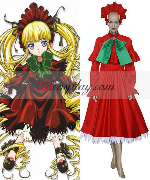 Rozen Maiden Shin ku Lolita Cosplay kostyme