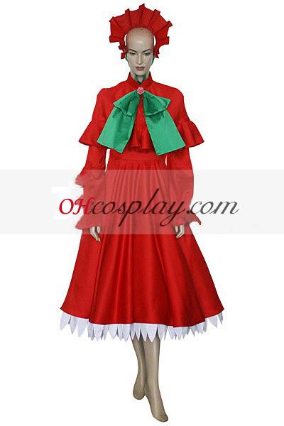 Rozen моминско пищяла ku Лолита Cosplay костюм