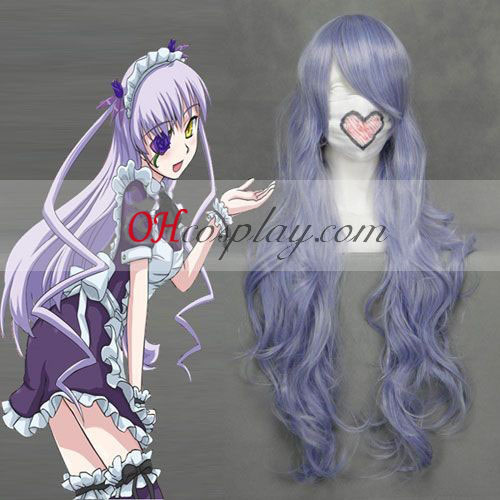 Rozen Maiden Barasuishou Light Purple Wave Cosplay Pruik