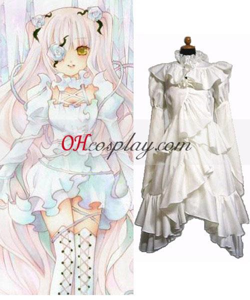 Rozen Dekliški Kirakishou Lolita Cosplay kostumov