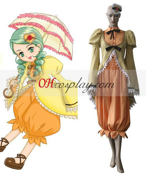 Rozen моминско Kanaria Cosplay костюм