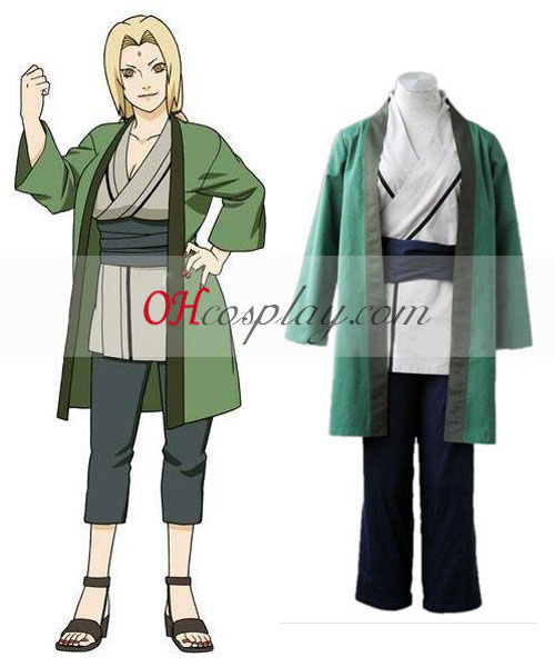 Naruto Shippuuden 5th Hokage Tsunate Cosplay Costume