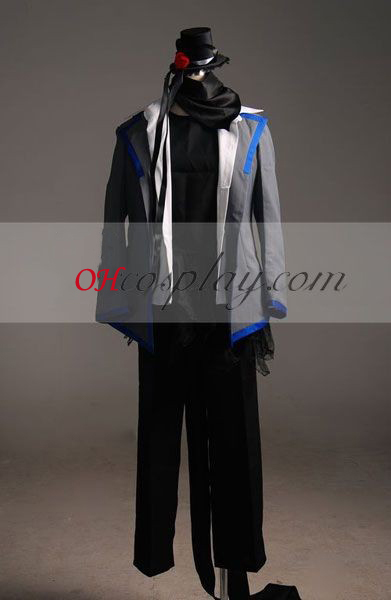 Cosplay Vocaloid kaito Fantasias-Advanced Personalizado