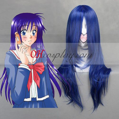 Shugo vergaderfaciliteiten facilities.The Fujisaki Nagihiko Donkerblauw Cosplay Wig
