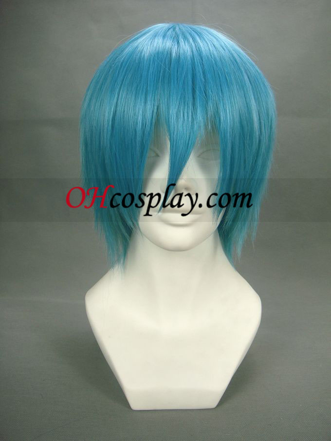 Soul Eater Black Star Royal Blue Cosplay peruk