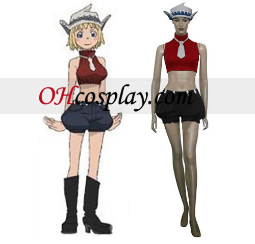 Soul Eater Paty Tonpuson Cosplay Costume