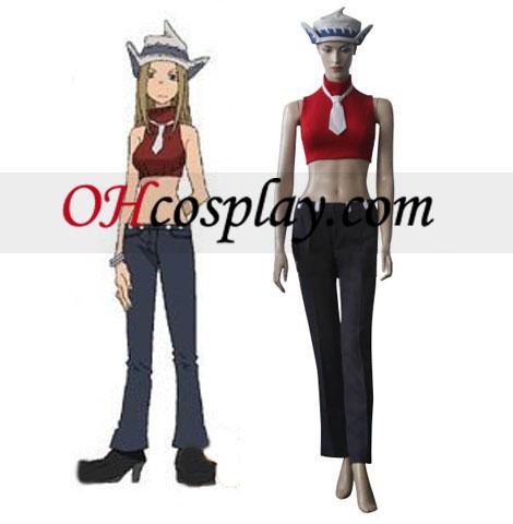 Soul Eater Lizu Tonpuson Cosplay Costume
