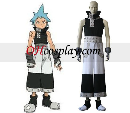 Soul Eater Black star Costume Carnaval Cosplay