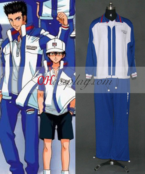 The Prince of Tennis Ečizen Ryoma Seigaku školskú uniformu