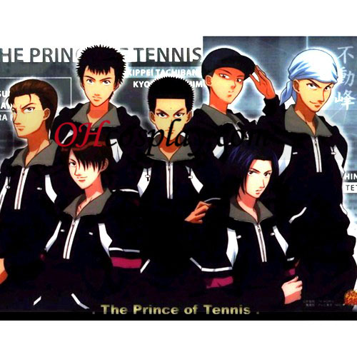 The Prince installation for Tennis Cosplay Fudomine Uniform