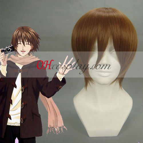 The Prince of Tennis FujiSyusuke Brown Cosplay Wig