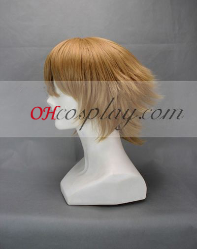 Принцът на тенис Shiraishi Kuranosuke кафяв Cosplay Wig