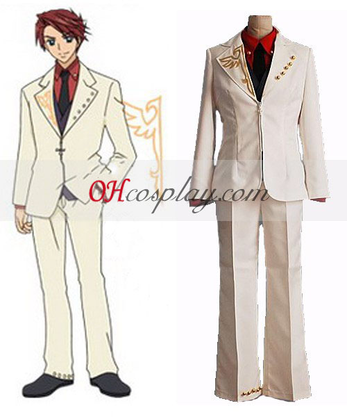 Battler Cosplay Costume regarding new Umineko no Naku Koro ni