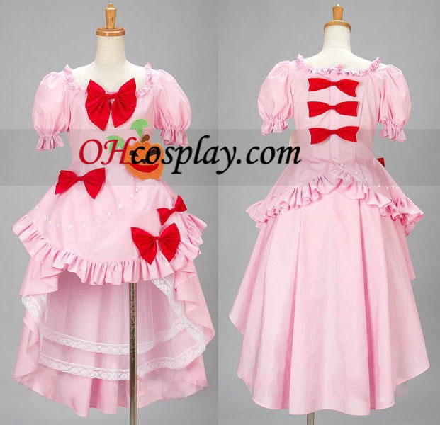 Lambdadelta Cosplay Costume when using the Umineko no Naku Koro ni