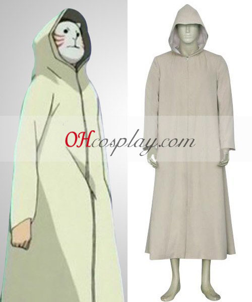 Naruto Shadows Anbu Cloak Cosplay Costume