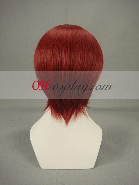 Звездно небе Tomoe Йо червеникаво кафяво Cosplay Wig