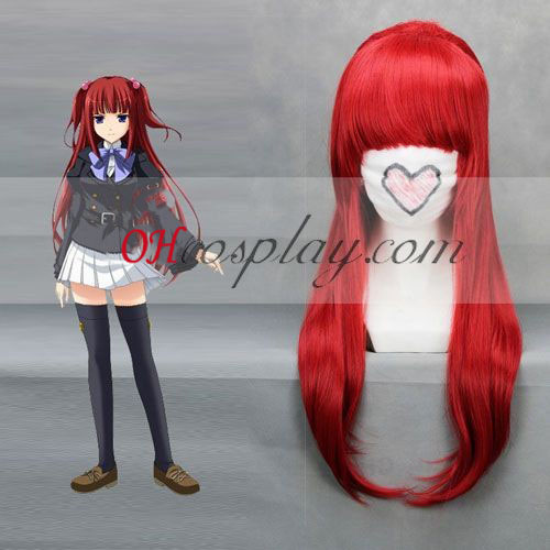 Umineko Ange Red Cosplay Wig