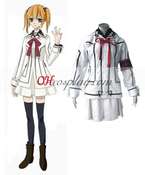 Vampire Knight Night Class Girl Kurosu Yuuki Cosplay Costume
