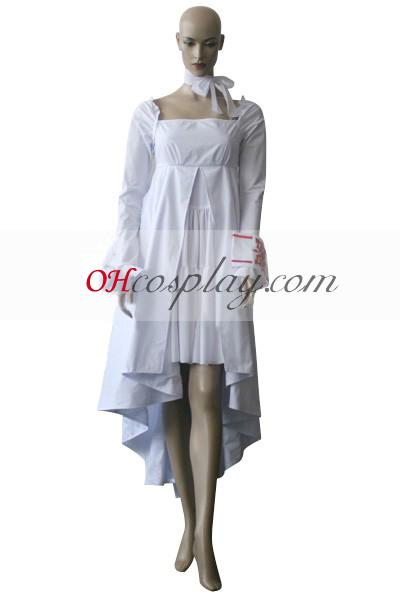 Вампирката-рицар Yuuki кръст бяла халат Cosplay костюм