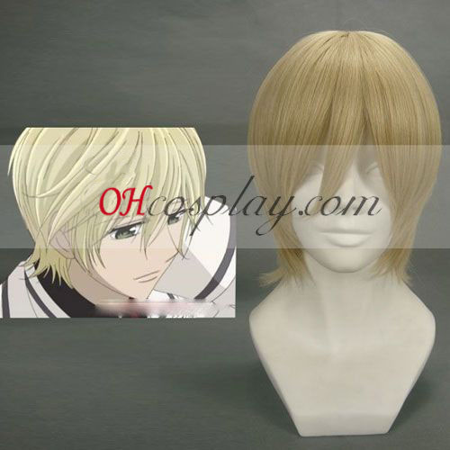 Vampire Knight Ichijou Takuma Yellow Cosplay Wig