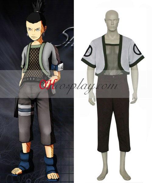 Naruto Nara Shikamaru Cosplay kostym