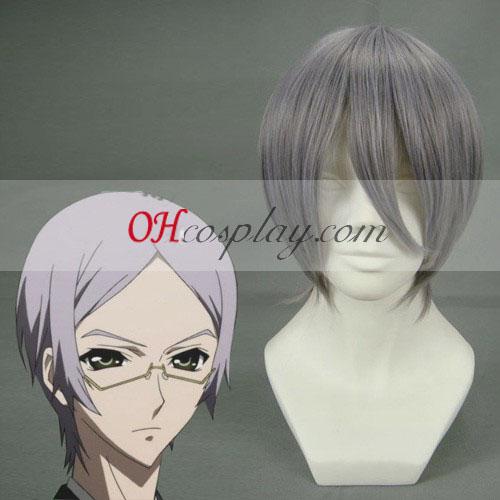 Vampire Knight-Kiryu Zero Grey Cosplay peruk