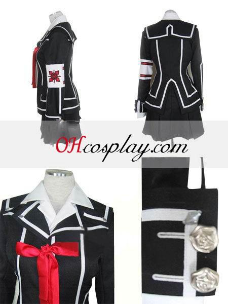 Вампирката-рицар ден клас момиче Kurosu Yuuki Halloween Cosplay костюм